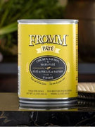 Fromm Chicken, Salmon, and Oats Pate Canned Dog Food 12 oz.