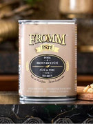 Fromm Pork and Brown Rice Pate Canned Dog Food 12 oz.