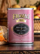 Fromm Salmon and Brown Rice Pate Canned Dog Food 12 oz.