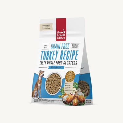 Honest Kitchen Good Free Turkey Clusters