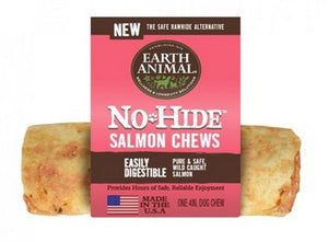 Earth Animal No-Hide Salmon Chew 4 in. (Each)