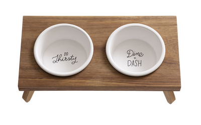 Easy Tiger Pet Bowl Set