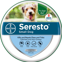 Bayer Seresto Flea and Tick Collar for Small Dog Breeds