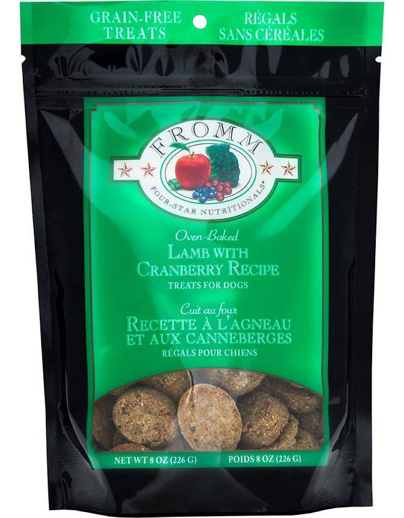 Fromm Lamb and Cranberry Treats 8 oz.