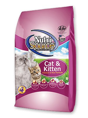 Nutri Source Complete Cat & Kitten Chicken and Rice Recipe