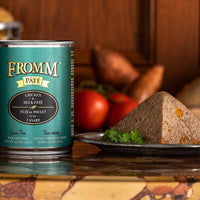 Fromm Gold Chicken and Duck Pate Canned Dog Food 12 oz.