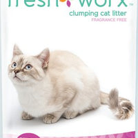 Freshworx Fragrance-Free Clumping Cat Litter 14 lb.