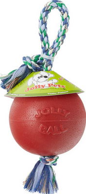 Jolly Romp n Roll Ball 6 in. - Red