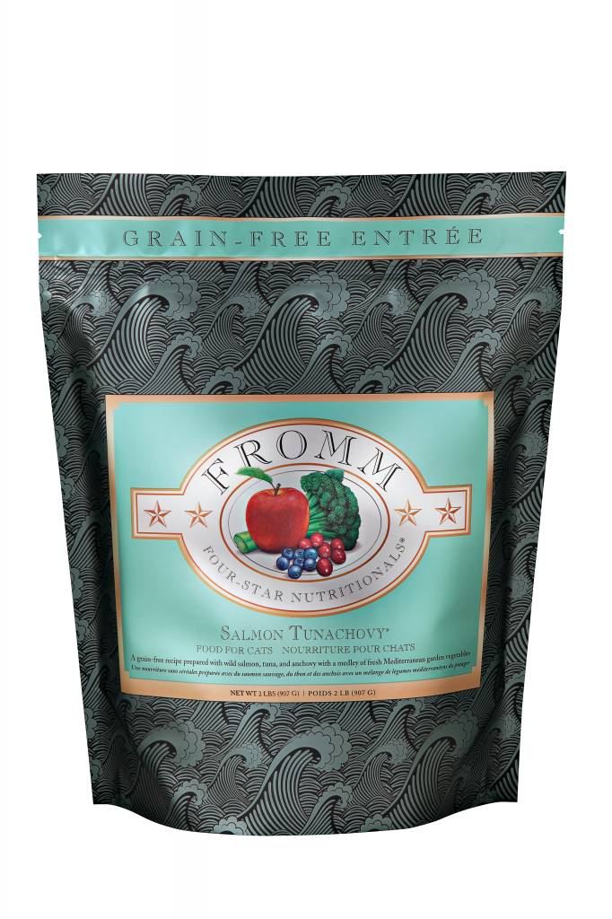Fromm 4-Star Grain Free Salmon Tunachovy Recipe for Cats