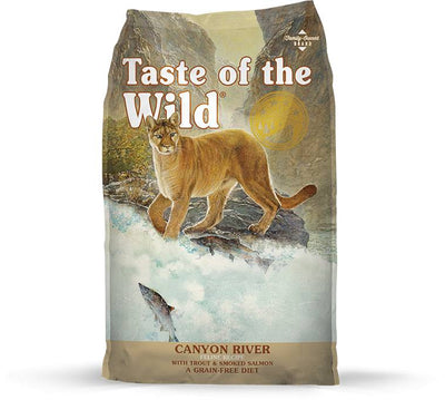 Taste of the Wild Canyon River Feline Recipe for Cats