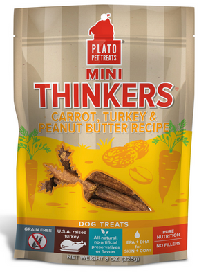 Plato Carrot and Peanut Butter Mini Thinkers