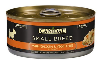 Canidae Small Breed with Chicken and Veggies Canned Dog Food 5.5 oz.