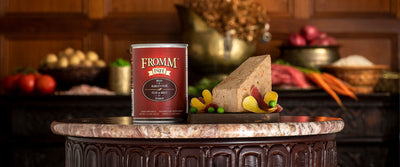 Fromm Gold Beef and Barley Pate Canned Dog Food