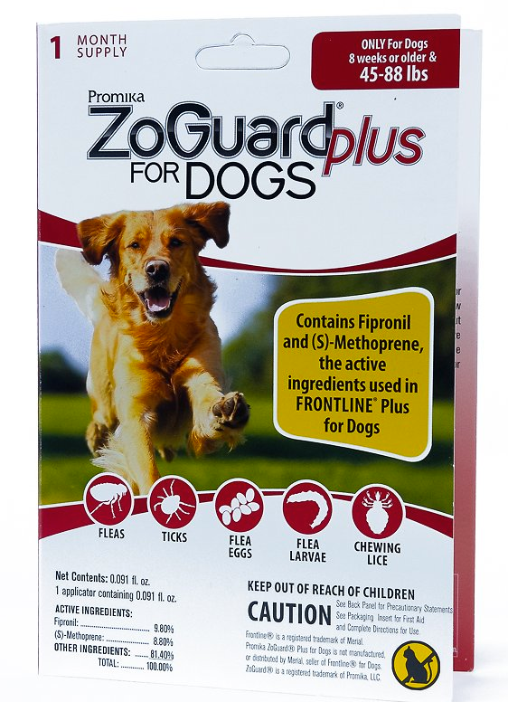 Zoguard Plus for Dogs 45-88 lb. - 1 pack