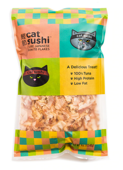 Presidio Cat Sushi Bonito Flakes 0.7 oz.