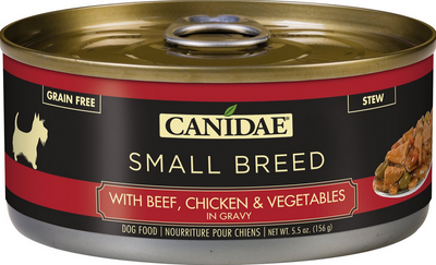 Canidae Small Breed with Beef, Chicken, and Veggies Canned Dog Food 5.5 oz.