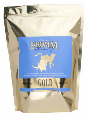 Fromm Gold Mature Adult Cat Food 5 lb.