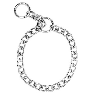 Fine Steel Choke Collar - 14 in.