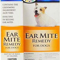 Four Paws Dog Ear Mite Remedy 0.75 oz.