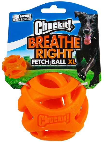 ChuckIt XL Breathe Right Fetch Ball