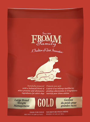 Fromm Gold Large Breed Weight Management 15#