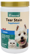 NaturVet Tear Stain Supplement Powder for Dogs and Cats 200mg