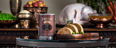 Fromm Gold Turkey Pate Canned Dog Food 12 oz.