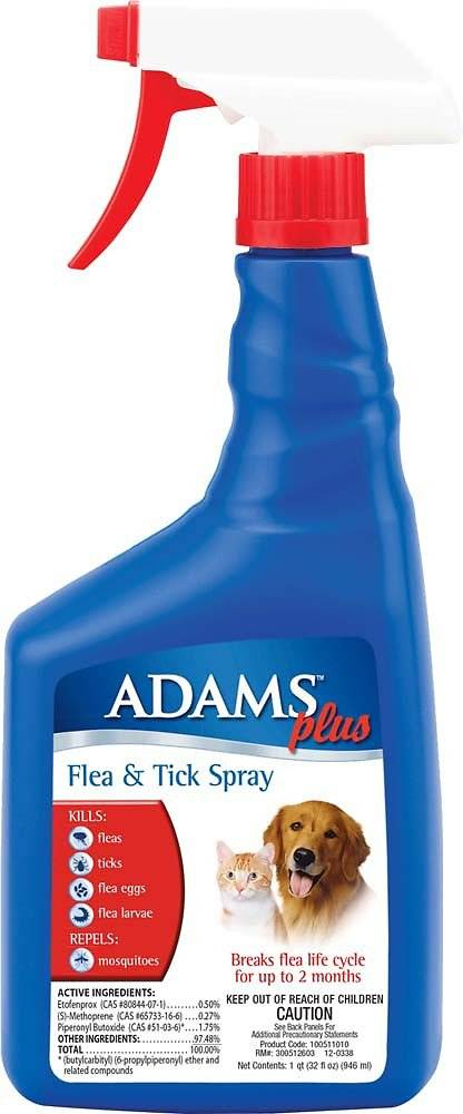 Adams Flea/Tick Spray 16 oz.