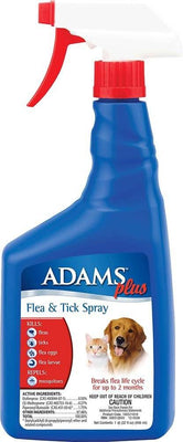Adams Flea/Tick Spray for Dogs and Cats 16 oz.