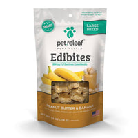 Pet Releaf Large Breed Edibites - Peanut Butter and Banana 30 ct.