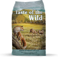 Taste of the Wild Appalachian Valley Small Breed Recipe with Venison and Garbanzo Beans for Dogs