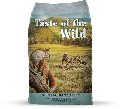 Taste of the Wild Appalachian Valley Small Breed Venison and Grabanzo Bean Dog Food 5 lb.