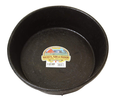 Miller Rubber Feed Pan 8 qt.