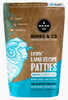 Bones & Co Frozen Lamb Patties 6 lb.