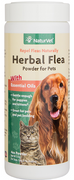 NaturVet Herbal Flea Powder for Dogs 4 oz.