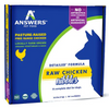 Answers Detailed Frozen Chicken Dog Nibbles 2.2 lb. Pack