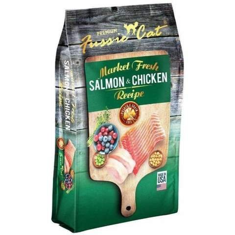 Fussie Cat Market Fresh Salmon and Chicken Recipe for Cats