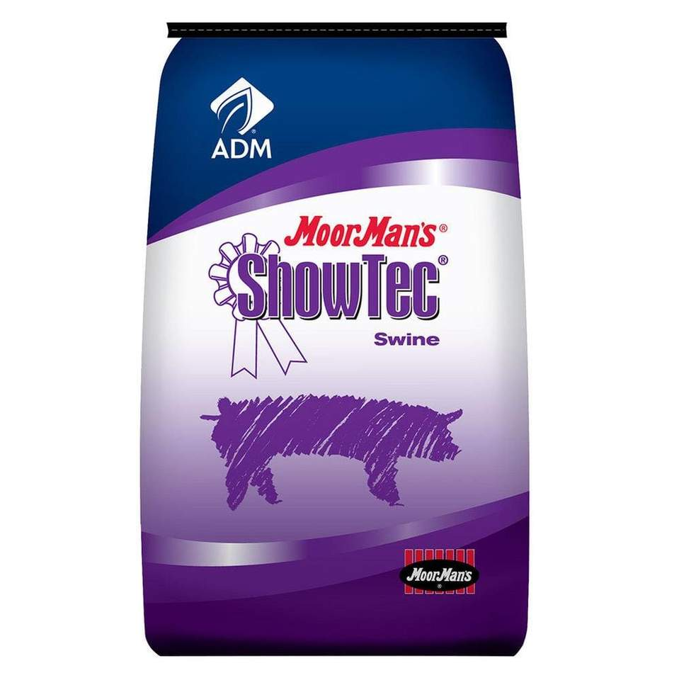 MoorMan's ShowTec BB 18% BMD 50 lb. Bag