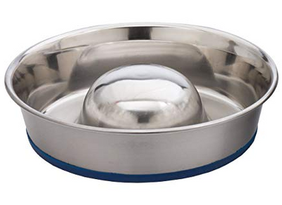 DuraPet Stainless Slow Feed Bowl md