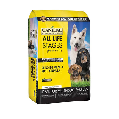 Canidae All Life Stages Chicken and Rice Formula for Dogs 30 lb.