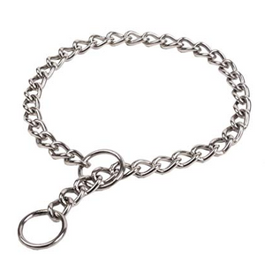 Medium Steel Choke Collar - 20 in.