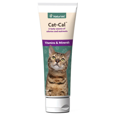 NaturVet Cat-Cal Nutritional Gel for Cats 5 oz.