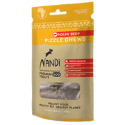 Nandi Nguni Beef Pizzle Chews for Dogs 3.5 oz.