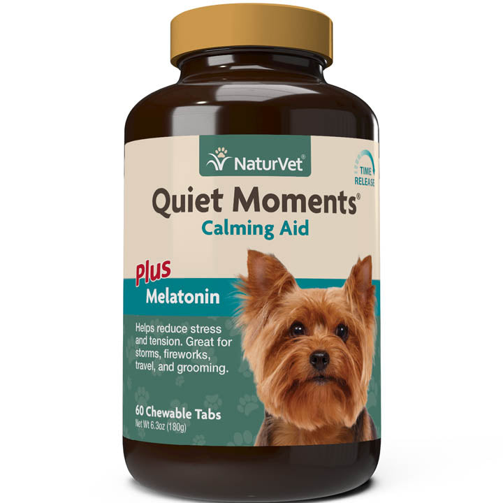 NaturVet Quiet Moments Time Release Tablets for Dogs 60 ct.