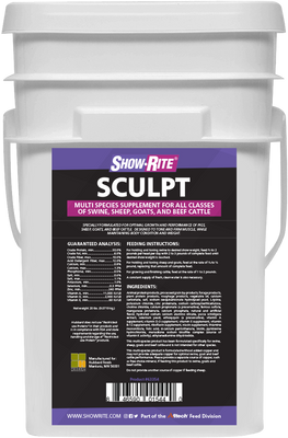 Show-Rite Sculpt 20 lb. Pail (Call to Special Order)