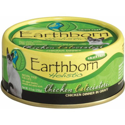 Earthborn Chicken Catcciatori Canned Cat Food 5.5 oz.