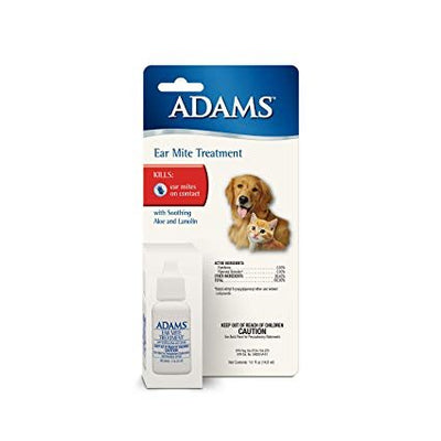 Adams Ear Mite Treatment for Dogs and Cats