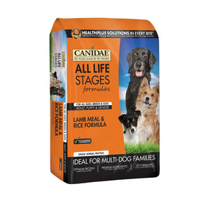 Canidae Dog Lamb and Rice 30 lb.