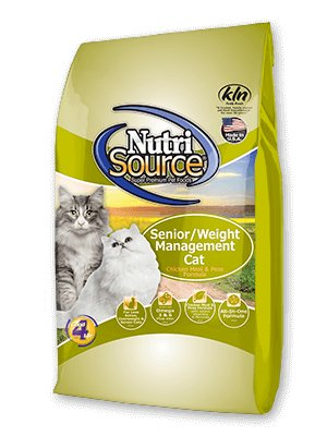 Nutri Source Senior Weight Management Recipe for Cats