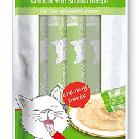 Churu Cat Grain Free Chicken w/ Scallop Tube